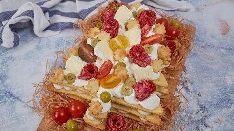 Cream tart salata albero di Natale: la ricetta dell'antipasto sfizioso e innovativo