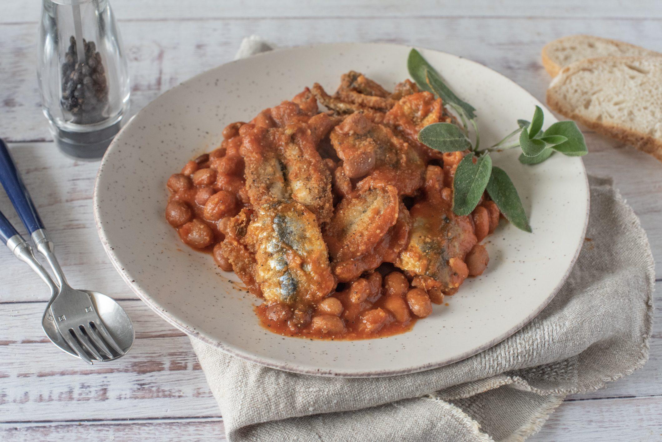 Fagioli e sarde: la ricetta del piatto unico semplice e saporito