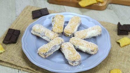 Dolcetti freddi cocco e cioccolato: la ricetta dei biscottini veloci e deliziosi