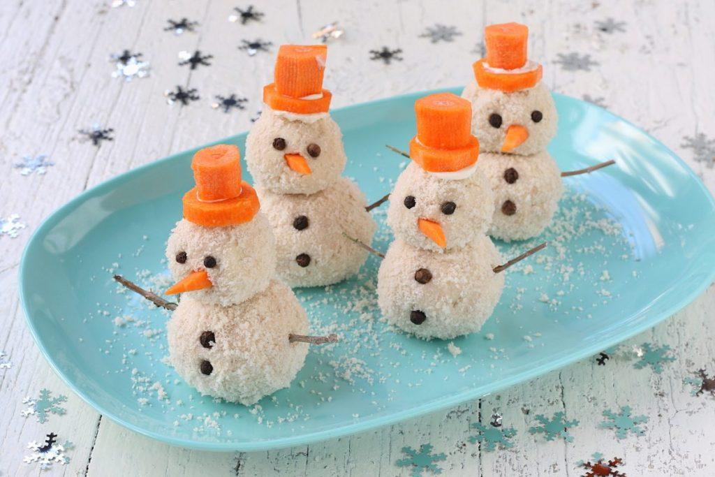 servire i pupazzi di neve