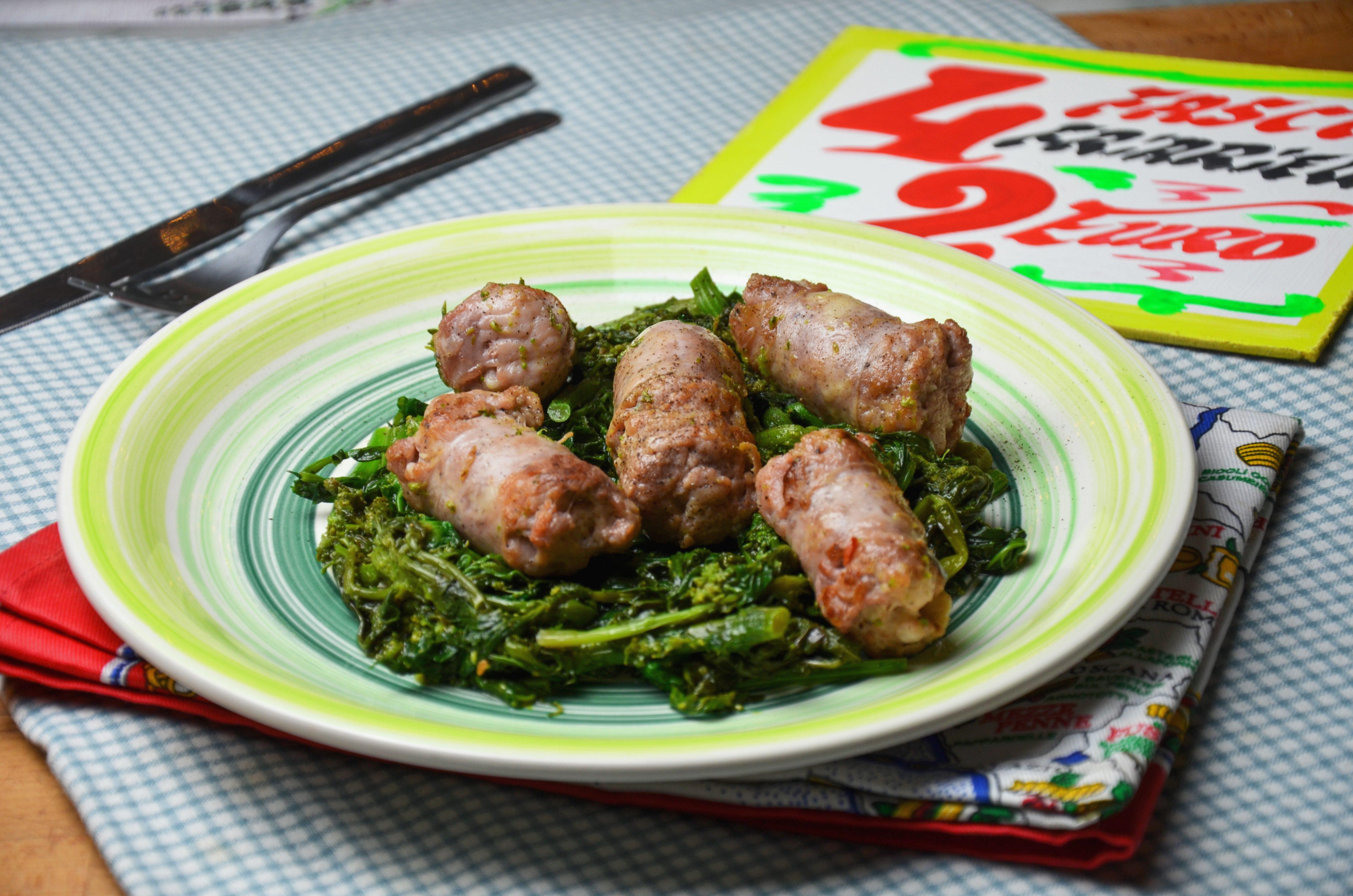Salsicce e cime di rapa: la ricetta del piatto ricco e gustoso