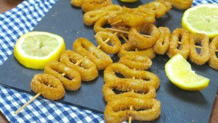 Spiedini di totano: la ricetta del secondo di pesce al forno semplice e delizioso