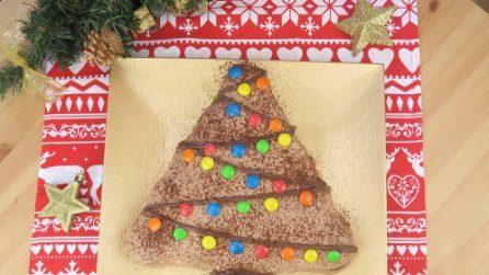 Torta albero di Natale: la ricetta del dolce natalizio veloce e scenografico