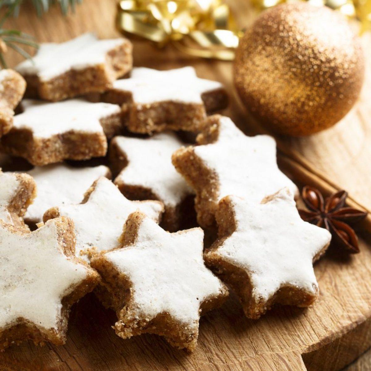 Biscotti Di Natale Zimtsterne.Zimtsterne La Ricetta Originale Dei Biscotti Stella Di Cannella Tedeschi