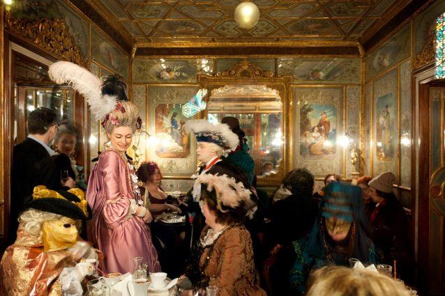 Il Carnevale Veneziano al Caffè Florian   Foto Facebook