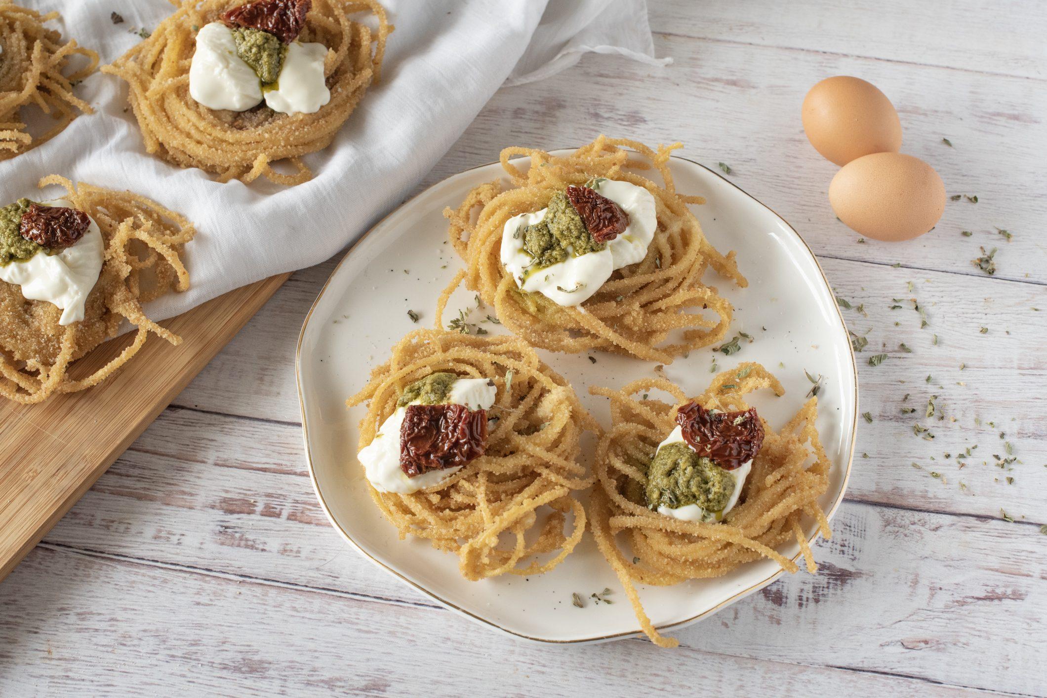 Spaghetti fritti: la ricetta dell'antipasto sfizioso e originale