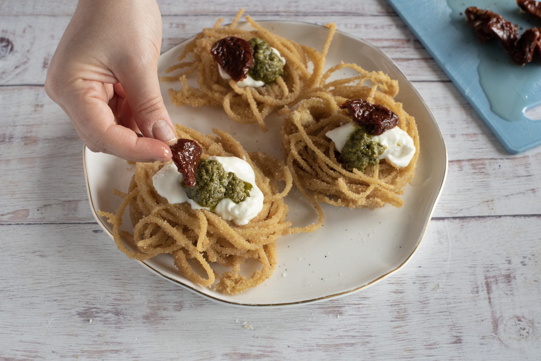 spaghetti fritti