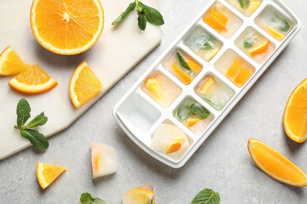 9 modi creativi per utilizzare le vaschette per i cubetti di ghiaccio