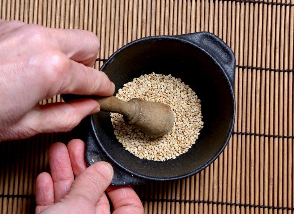 2_pestate semi di sesamo_zucca con glassa dolce©Gooduria lab