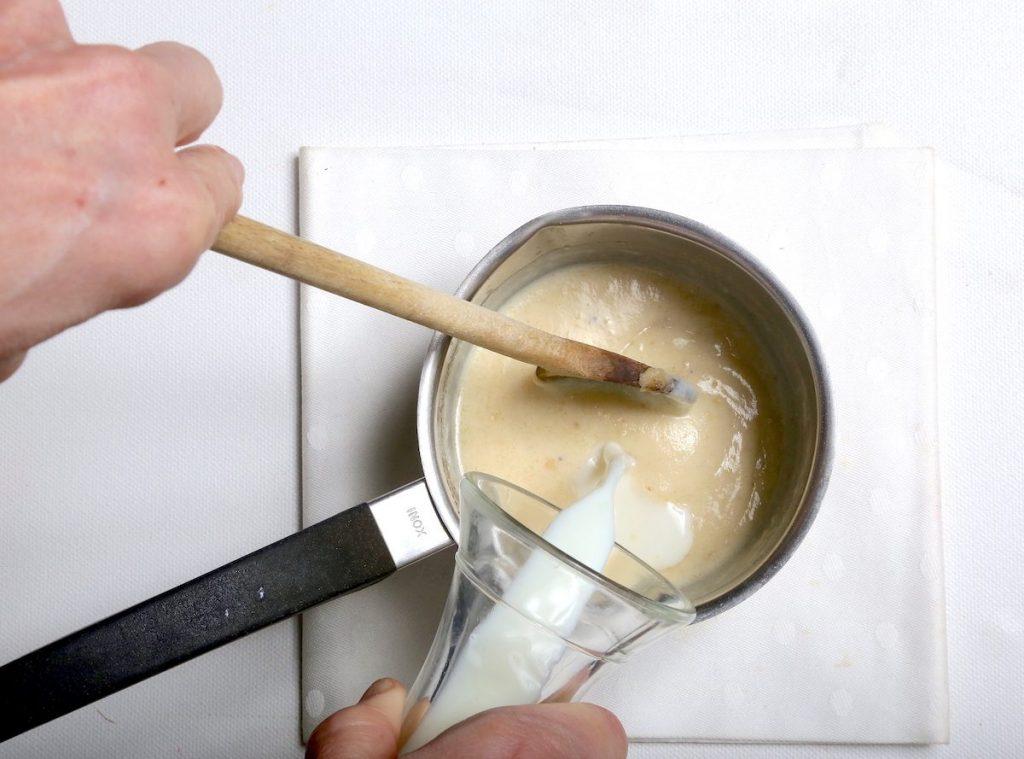 3_aggiungere il latte_patate in teglia @ gooduria lab