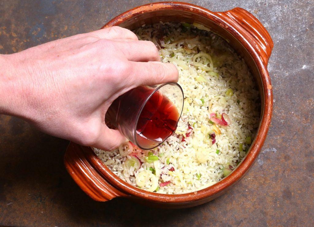 3_sfumate il vino_risotto radicchio e Amarone ©Gooduria lab