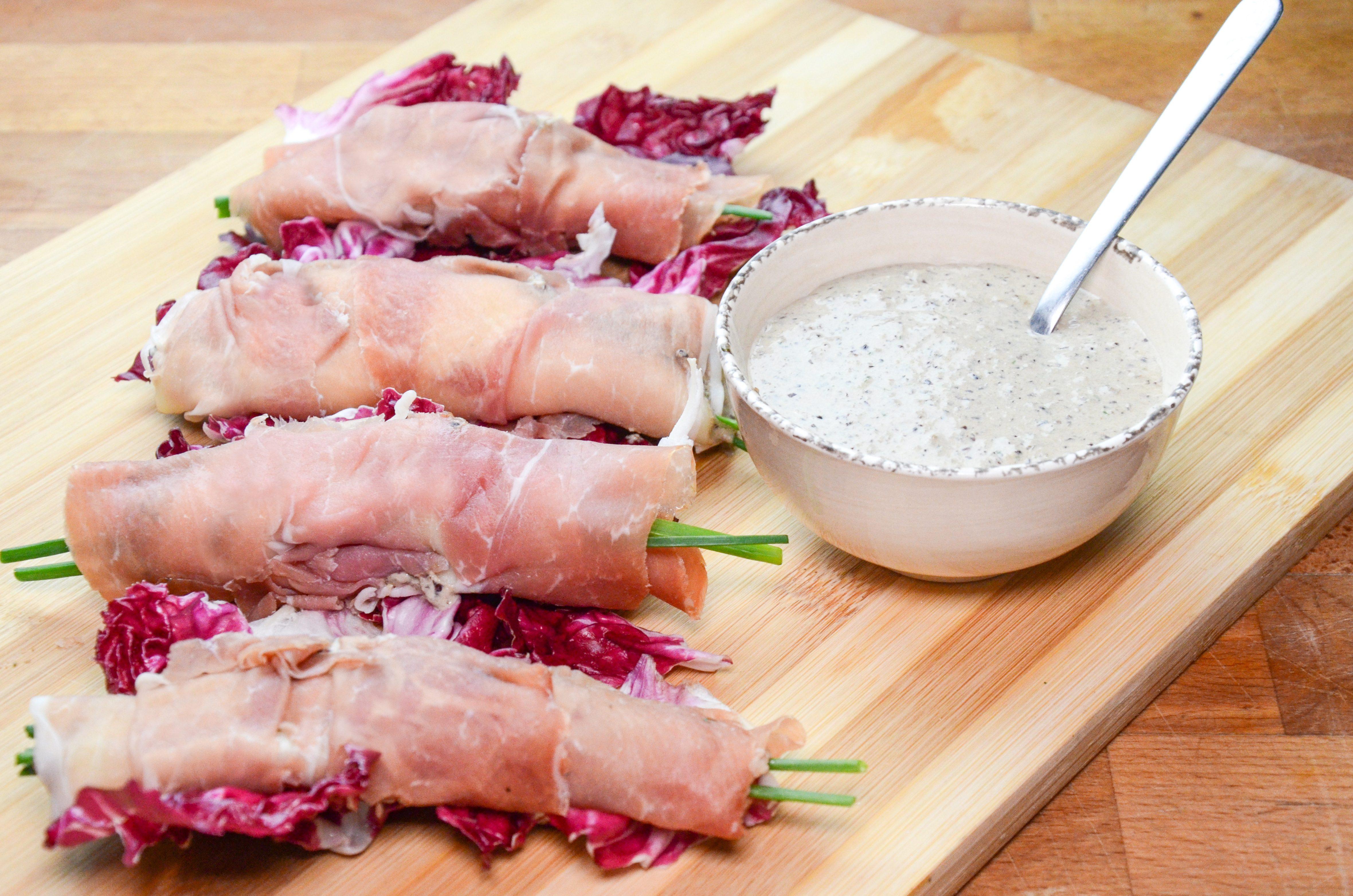 Involtini di prosciutto crudo: la ricetta dell'involtino facile e veloce