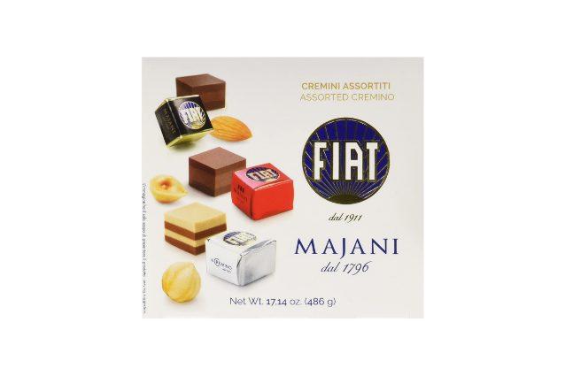 cioccolatini Fiat Majani da regalare a lui per San Valentino