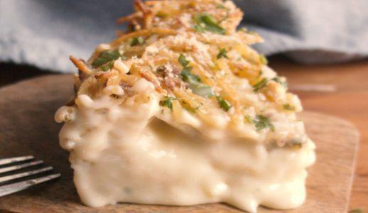 Frittata di spaghetti ripiena: la ricetta del piatto unico con cuore filante