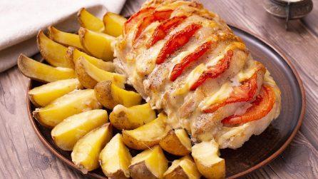 Lonza di maiale ripiena: la ricetta del secondo piatto semplice e succulento