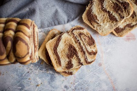 Pan bauletto zebrato: la ricetta del dolce soffice e originale