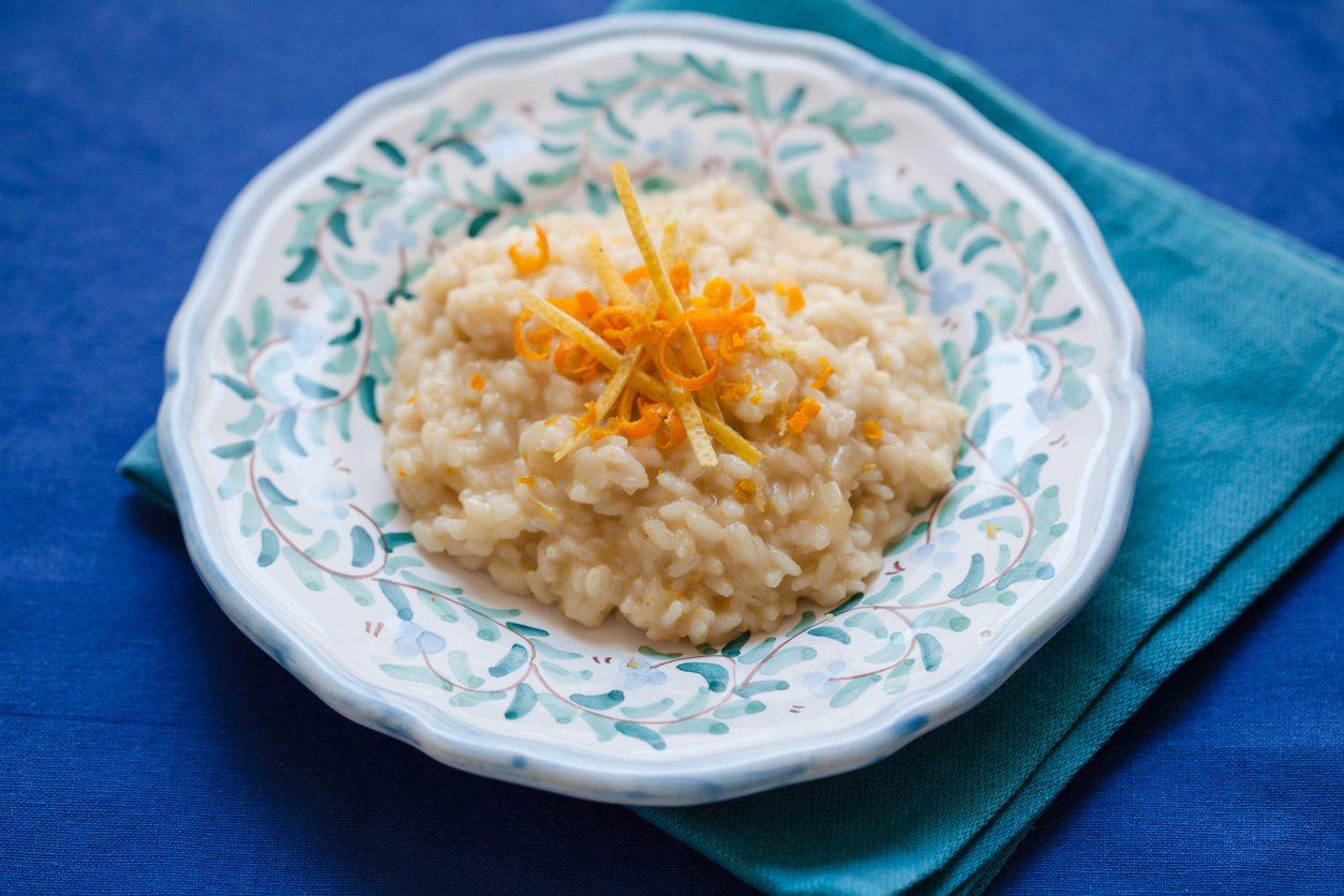 Risotto al mandarino: la ricetta del primo piatto aromatico e profumato