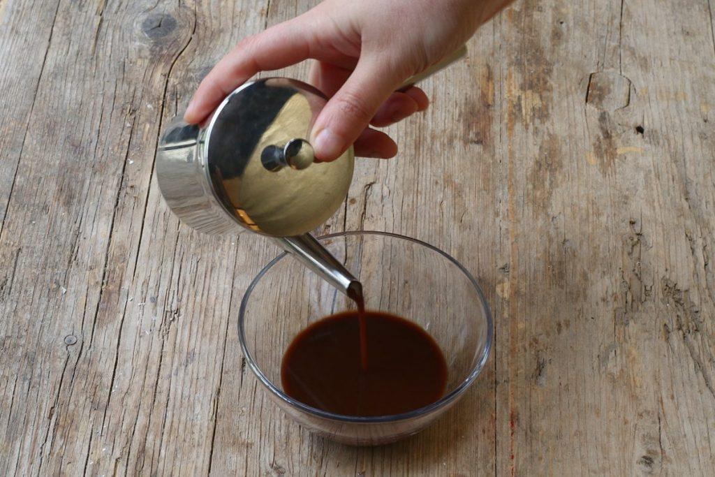 fare la bagna al caffè