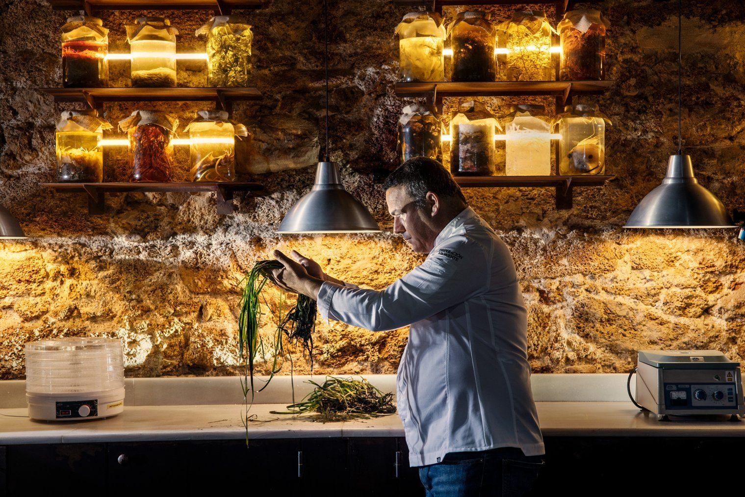 Riso dell'Oceano: il nuovo ingrediente scoperto da Ángel León, chef 3 Stelle Michelin