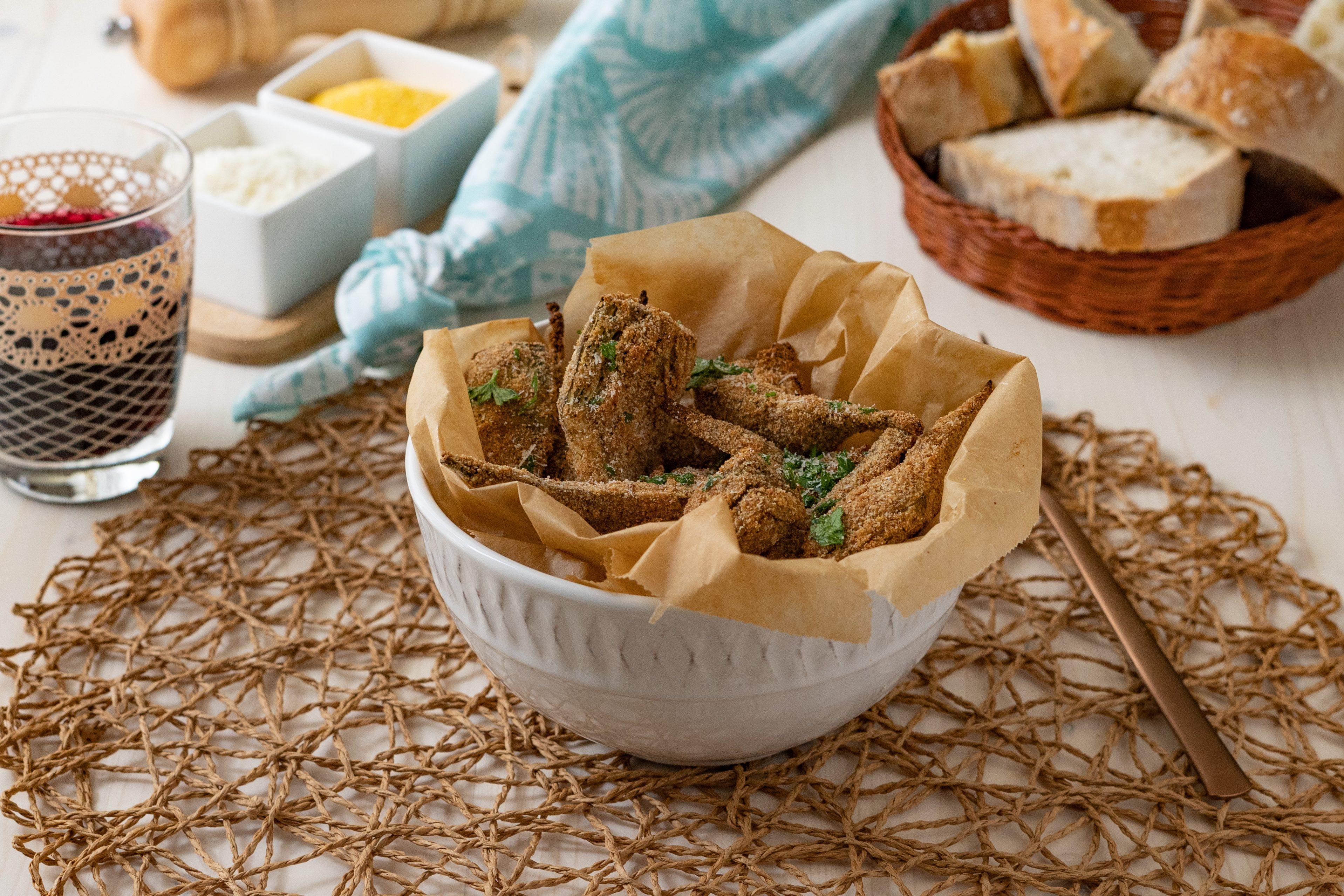 Carciofi croccanti: la ricetta del contorno leggero e stuzzicante