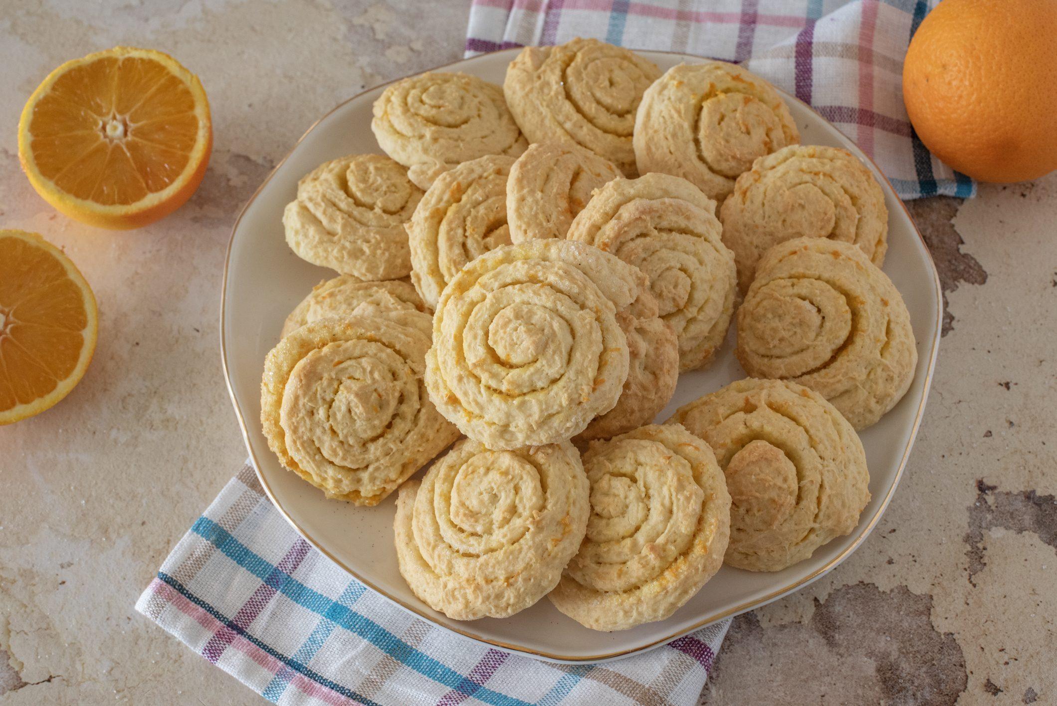 Girelle dolci di Carnevale: la ricetta dei biscottini semplici e profumati