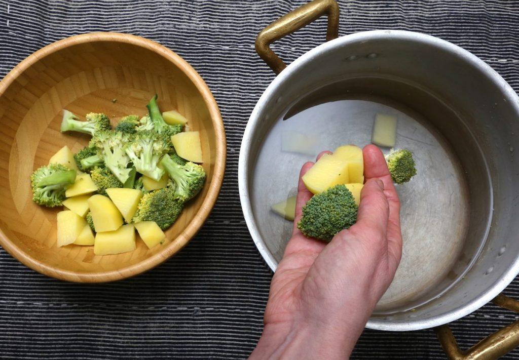 1_lessate patate e broccoli_pasta con crema di patate broccoli©Gooduria lab