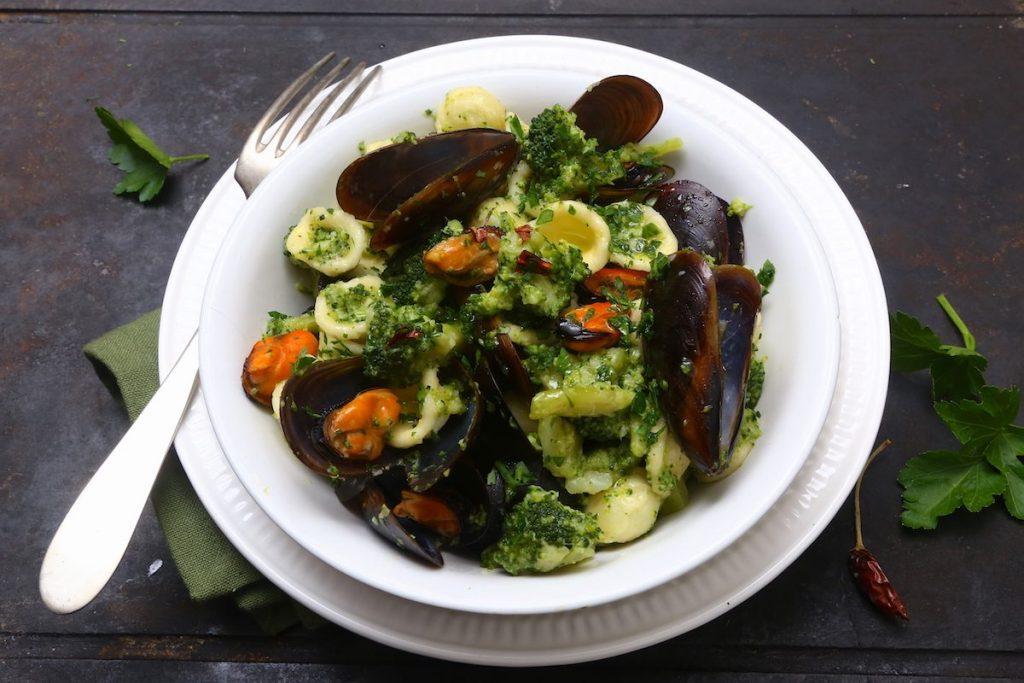 6_pasta broccoli e cozze pronta_pasta broccoli e cozze©Gooduria lab