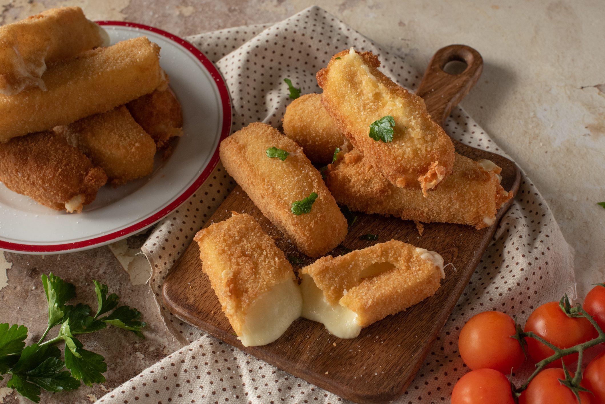 Mozzarella alla francese: la ricetta dell'antipasto goloso e filante