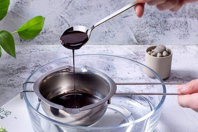 Pentolino per sciogliere il cioccolato a bagnomaria