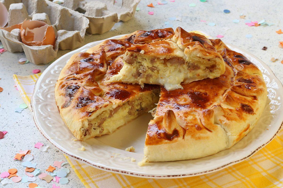 Pizza di Carnevale: la ricetta della torta rustica tipica sorrentina
