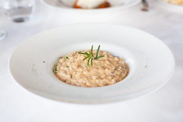 Risotto al rosmarino: la ricetta del primo piatto semplice e profumato