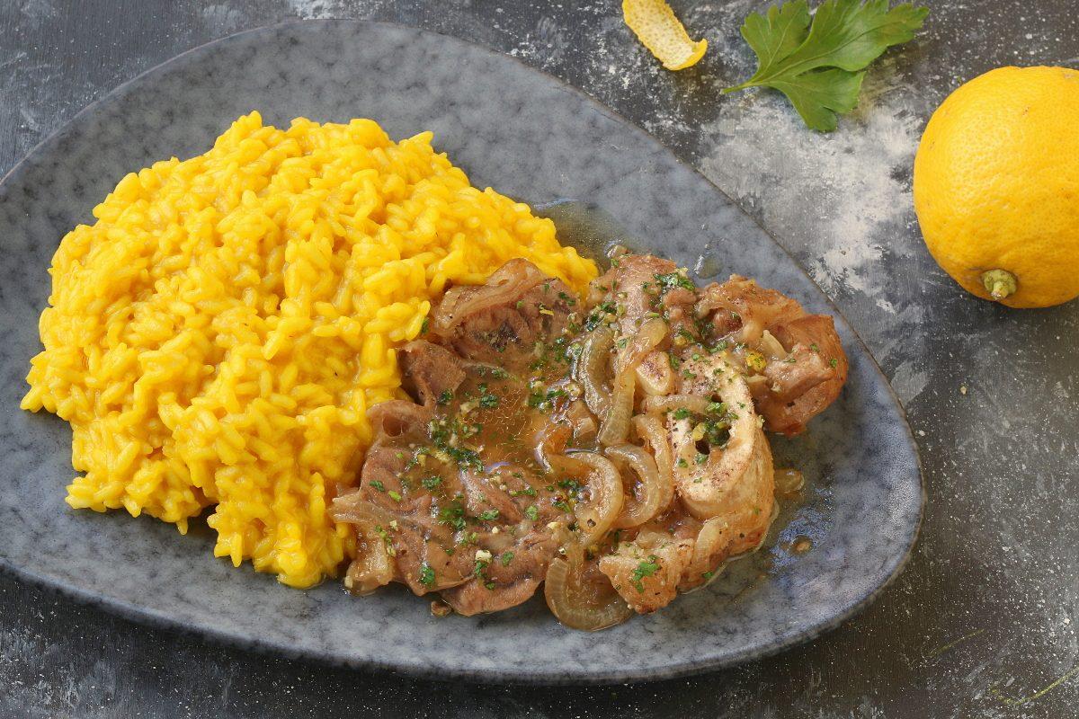 Risotto con ossobuco: la ricetta del grande classico milanese