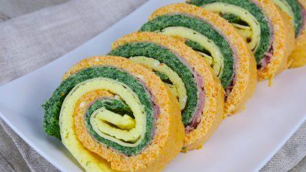 Rotolo tricolore: la ricetta del secondo piatto sfizioso e originale