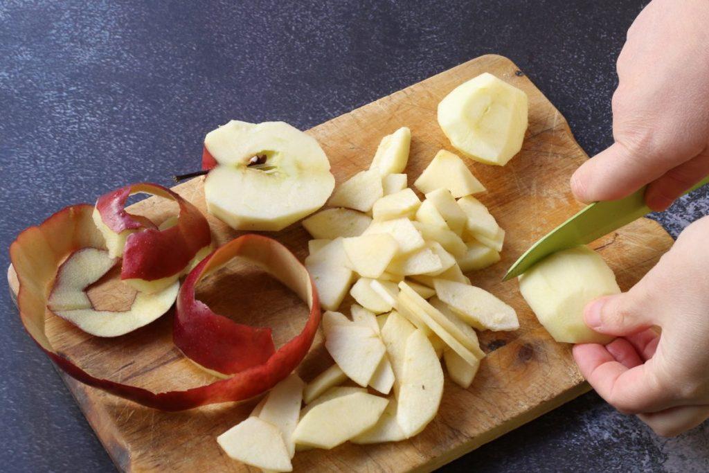 affettare le mele