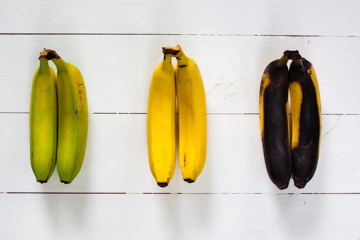 Banane: verdi, gialle, macchiate. Quando è meglio consumarle?