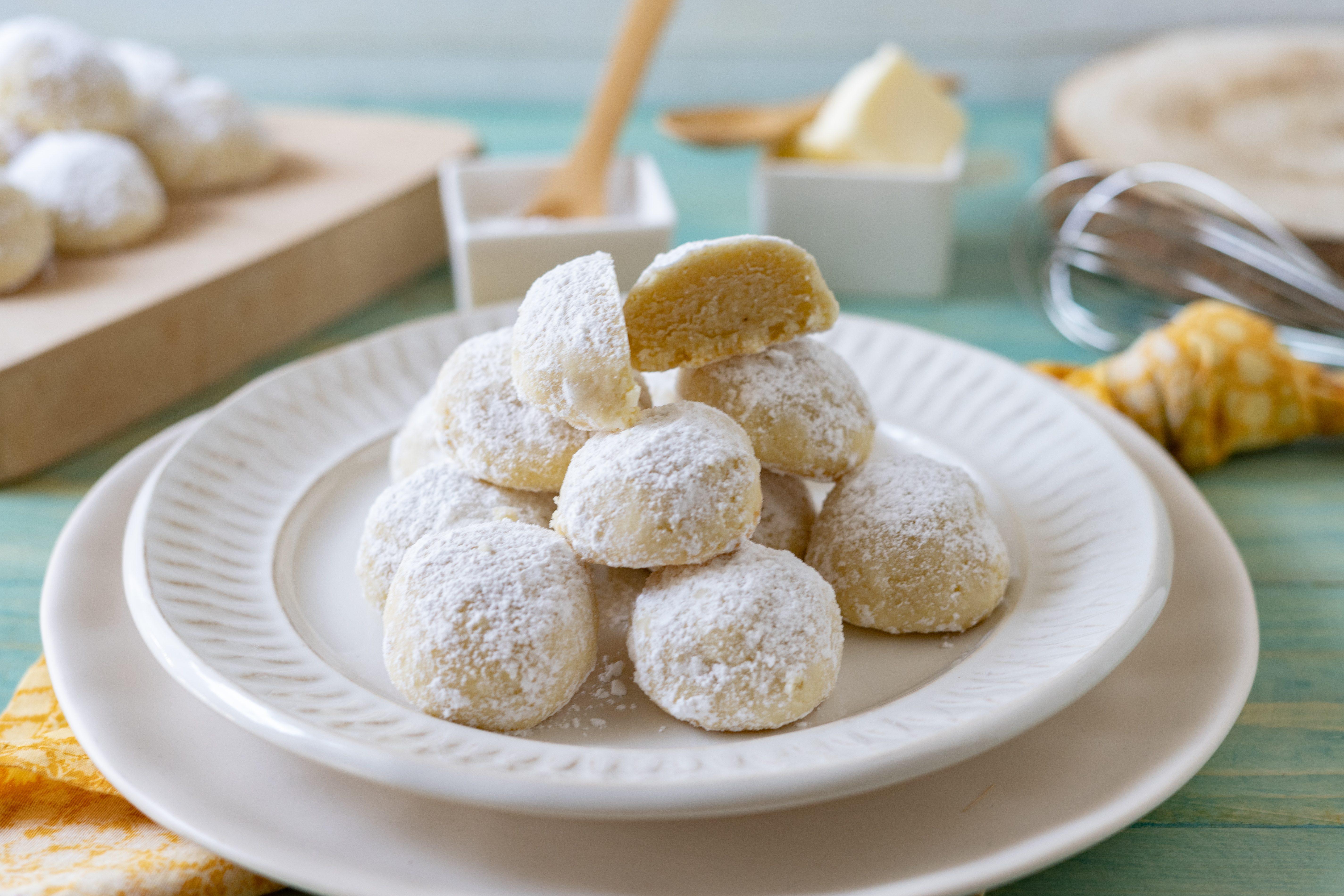 Biscotti di neve: la ricetta dei pasticcini morbidi e profumati