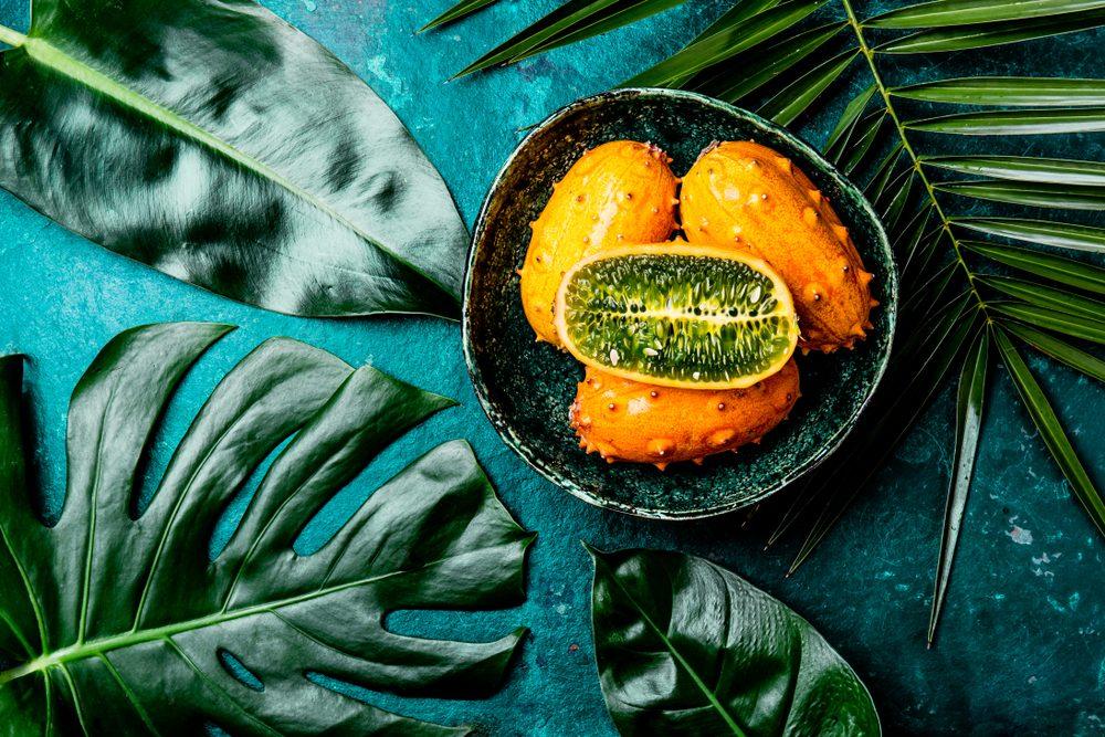 Kiwano o melone cornuto africano: lo strano frutto tropicale che sa di cetriolo e banana