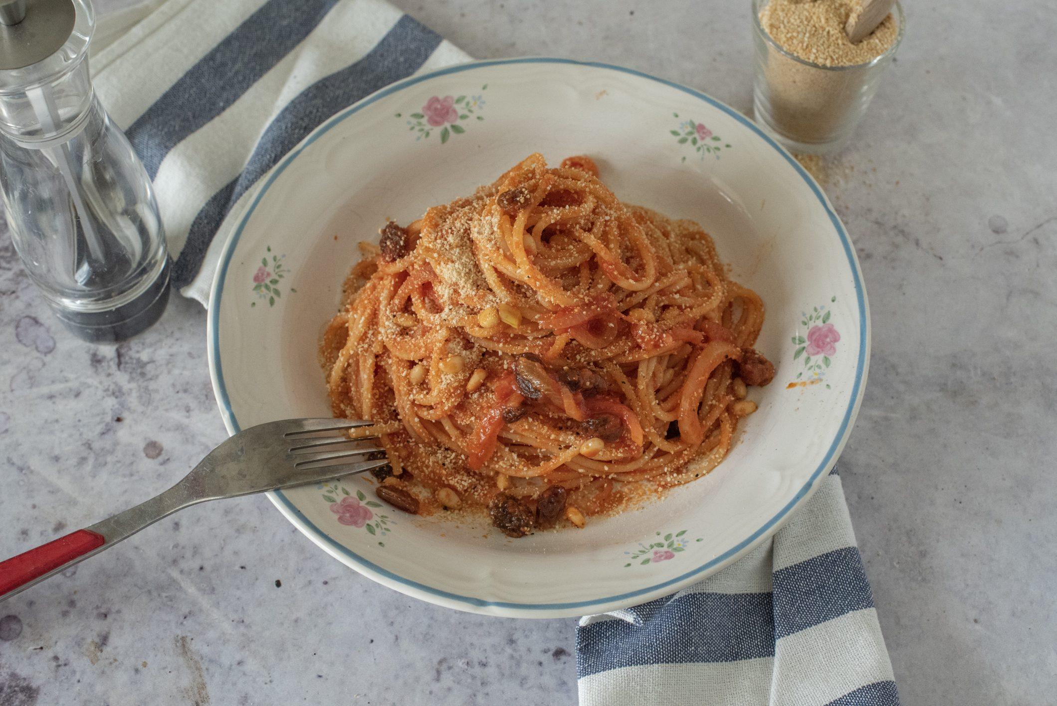 Pasta c'anciova: la ricetta del primo piatto tipico palermitano
