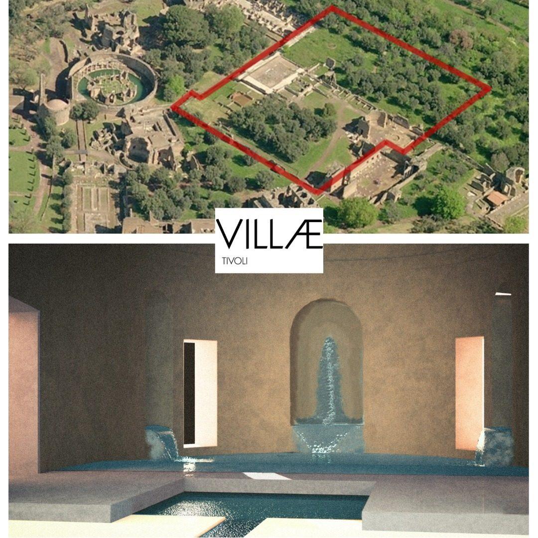 Foto dalla pagina Facebook di Villa Adriana