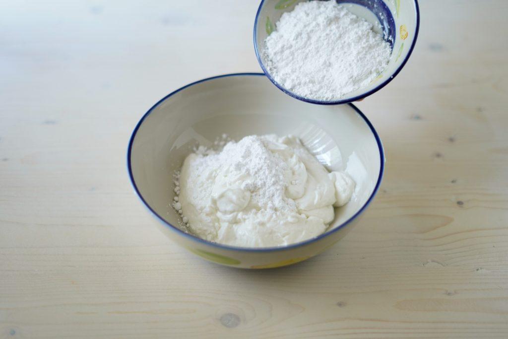 aggiungere lo yogurt greco