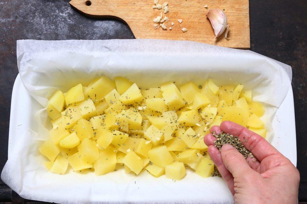 6_aromatizzate le patate_gallinella di mare gratinata con patate©Gooduria lab