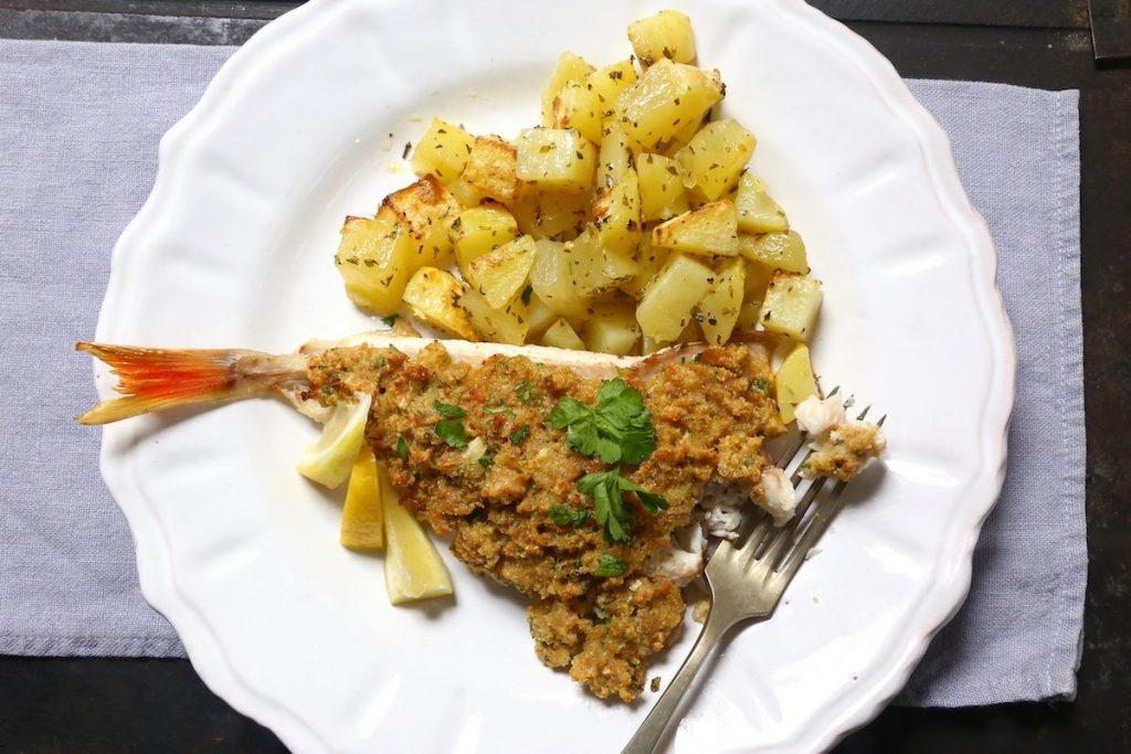 8_gallinelle gratinate pronte_gallinella di mare gratinata con patate©Gooduria lab