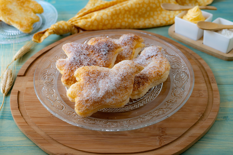 Colombine di sfoglia: la ricetta dei dolcetti golosi e perfetti per la Pasqua