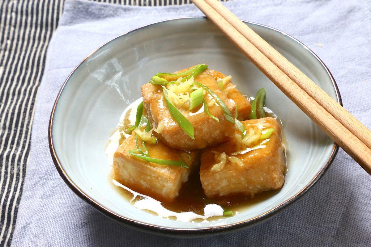 Agedashi dofu: la ricetta del tofu fritto al brodo dashi