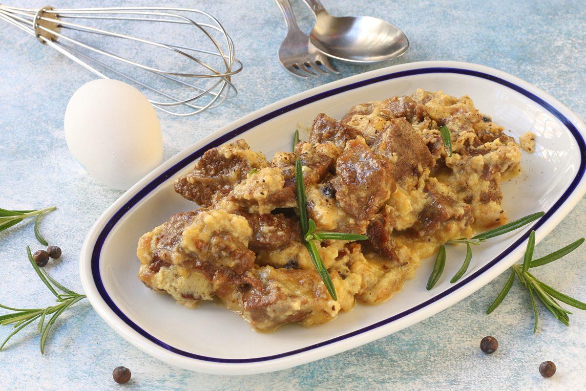 Agnello cacio e uova: la ricetta del secondo tipico abruzzese