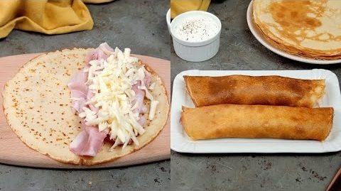 Crêpes di patate con formaggio e prosciutto: la ricetta delle squisite crespelle al forno