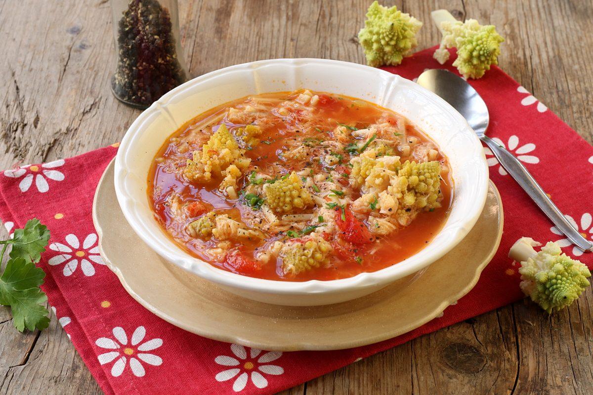 Minestra broccoli e arzilla: la ricetta del piatto tradizionale romano