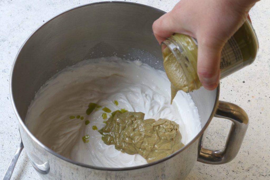Crema al pistacchio e mascarpone