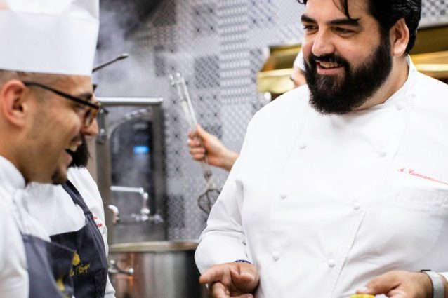 Foto dal profilo Facebook dello chef