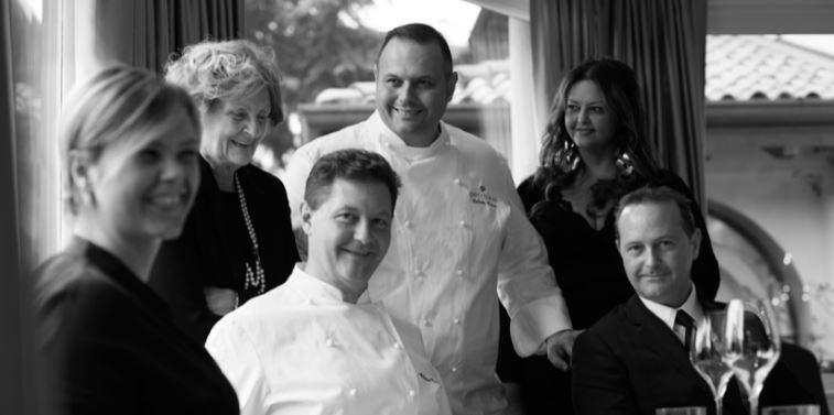 La famiglia Cerea al completo   Foto dal sito ufficiale di Da Vittorio